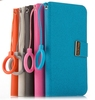 Foldable Mobile Phone Leather Case for iPhone 5
