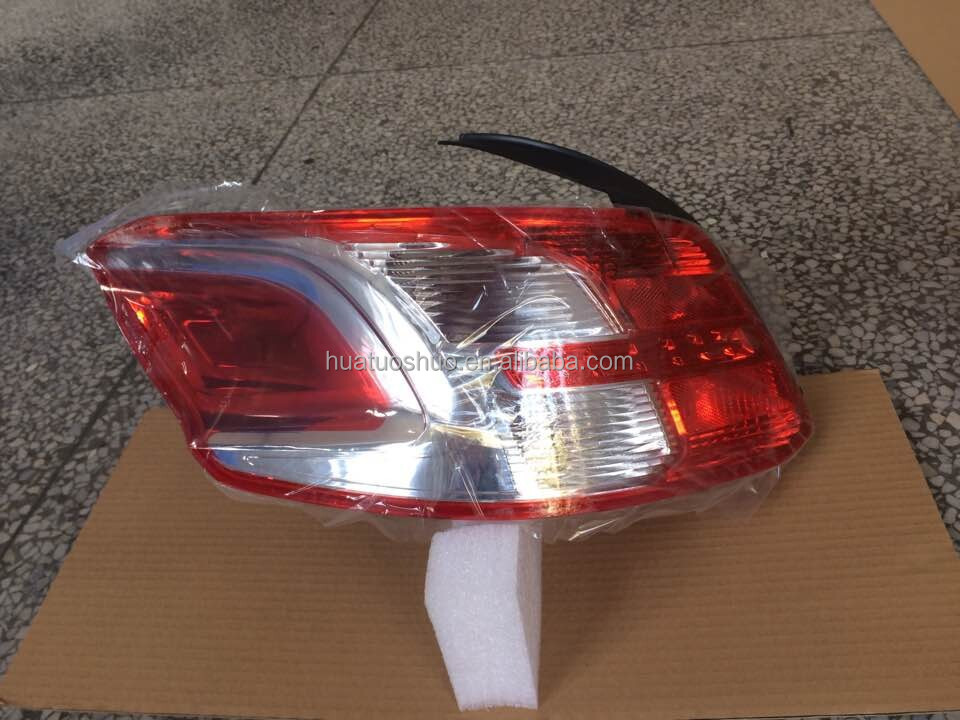 car auto lights tail lamp for peugeot 301