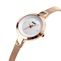 new design skmei 1390 water resistant quartz watch japan movement reloj women ladies fashion watches