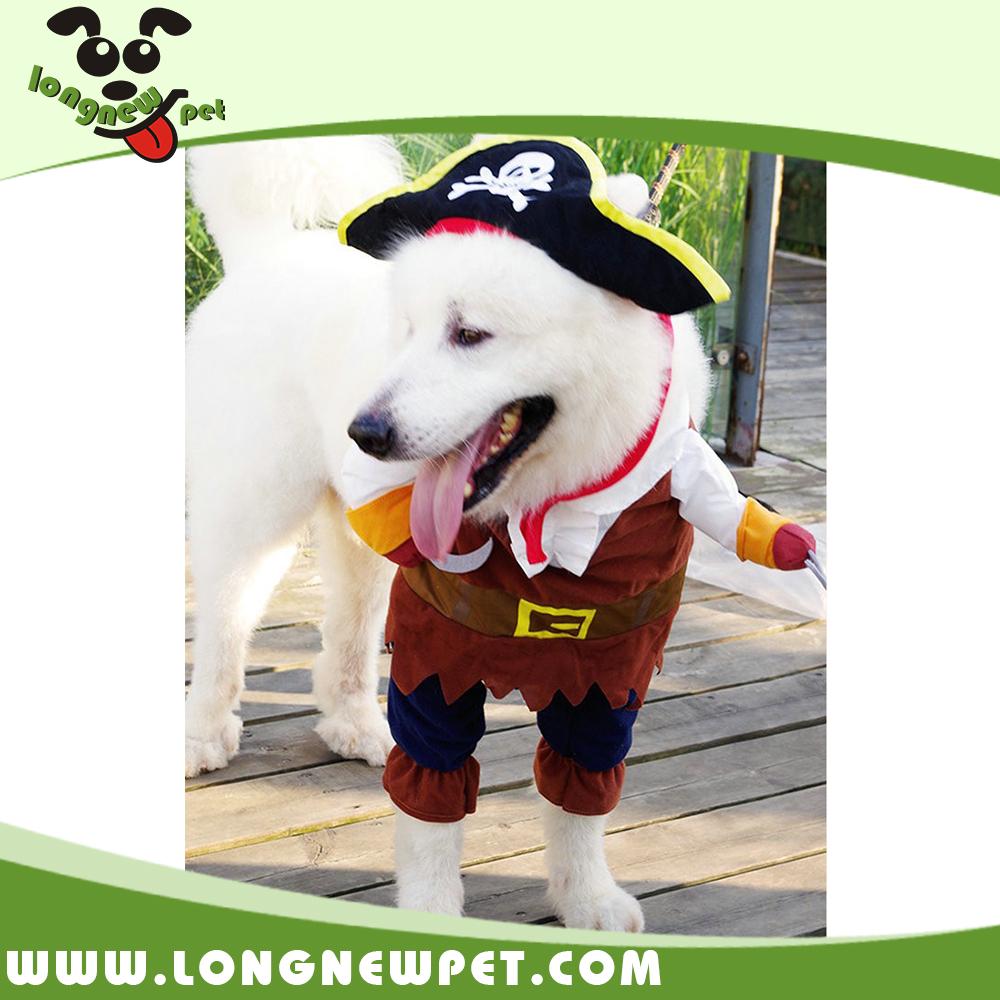 مضحك تأثيري القراصنة زي الكلب الملابس والاكسسوارات القط الملابس