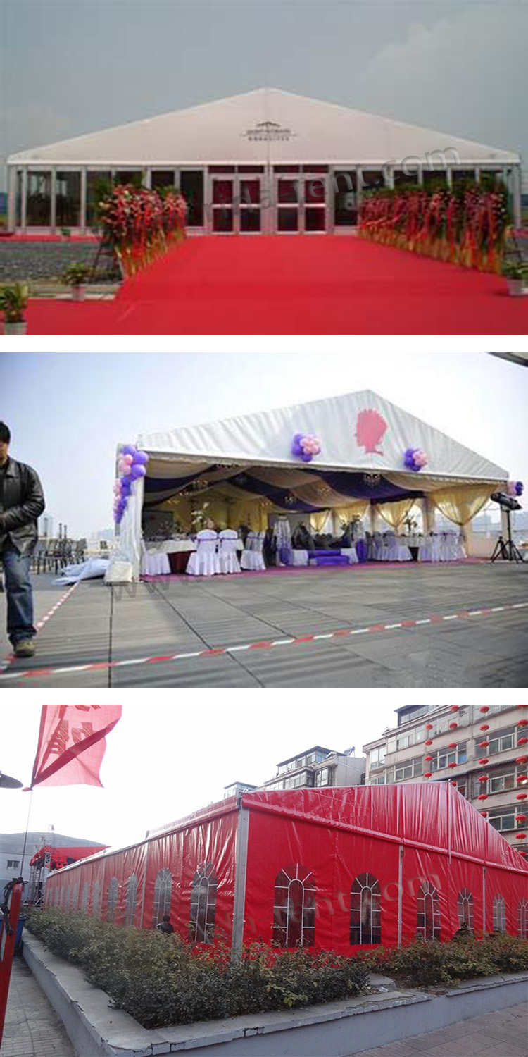 Wedding tents for 300 people - Guangzhou Wall Decorations Aluminum Frame Tent 300 People Wedding Tent With Wooden Flooring