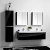 SIMBLE MDF Bathroom Vanity, MDF Bathroom Cabinet, Wooden Bathroom Furniture Made In Chinacabinet