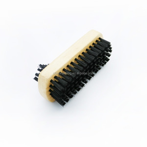 High quality double side shoe shine brush