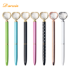 New Design Customize Logo Pens Premium Heart-shaped Metal Ball Pens