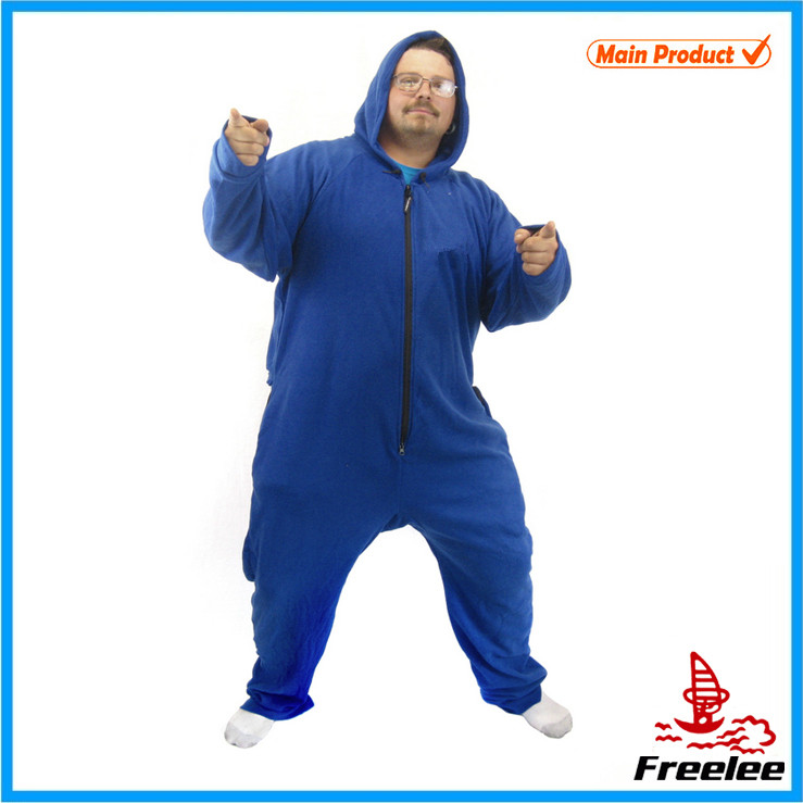Unisex and one size fits all animal onesie pajamas. Fits most up to 6'2'' and lbs.