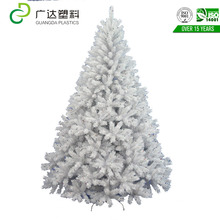 Stained white Christmas tree