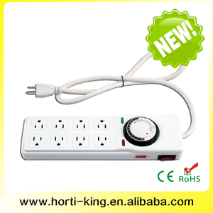 2014 NEW 8-Outlet Power Strip with 24 Hrs Digital Timer