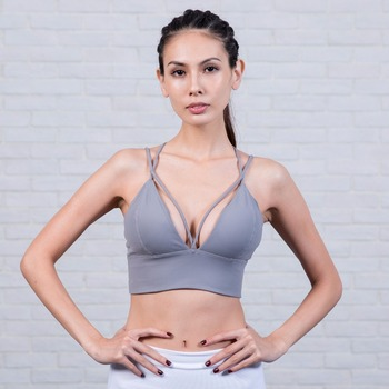 fd1993e29cd9a Wholesale Custom Logo Push up Sports Bra Plus Size Yoga Bra Bodybuilding Training  Bra
