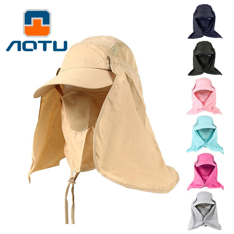 Detachable fishing jungle sand mosquito sun fisherman face mountaineering outdoor sunshade <strong>cap</strong>