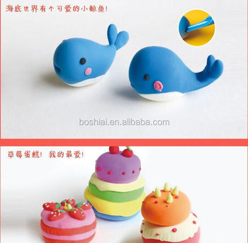 Wholesale Top Sale Kids Professional Modelling Clay Funny Eco Friendly Plasticine Modeling Toy