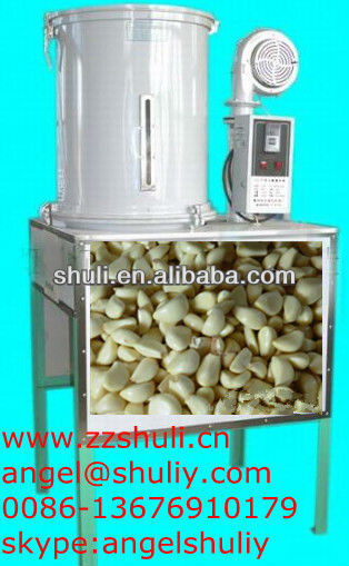 shallot onion peeling machine/garlic skin peeler/Automatic garlic peeling machine0086-13676910179