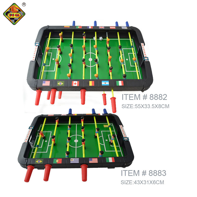 indoor soccer football table foosball game set with balls for kids