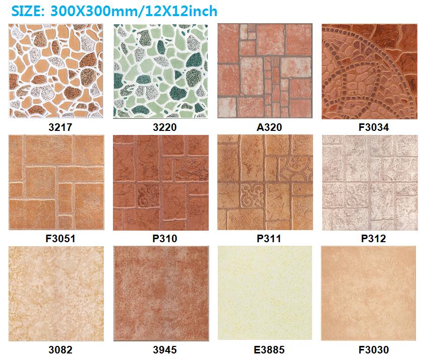 300x300 telhas de cer mica antiderrapante telha de for Ceramica para piso de bano antideslizante