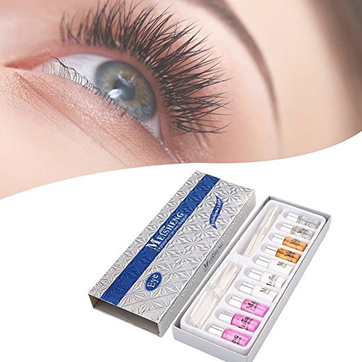 Professionele Lash Lift Korea Wimper Perm Kit Liquid Eyelash Wave Curling Kit