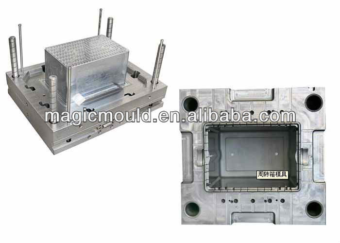 high quality good design plastic box for things injection mould
