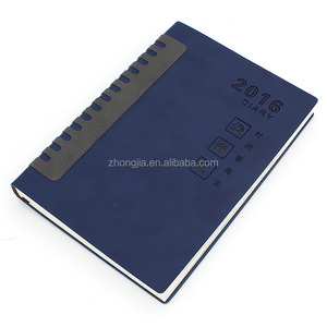 Latest design soft cover leather diary one date per page