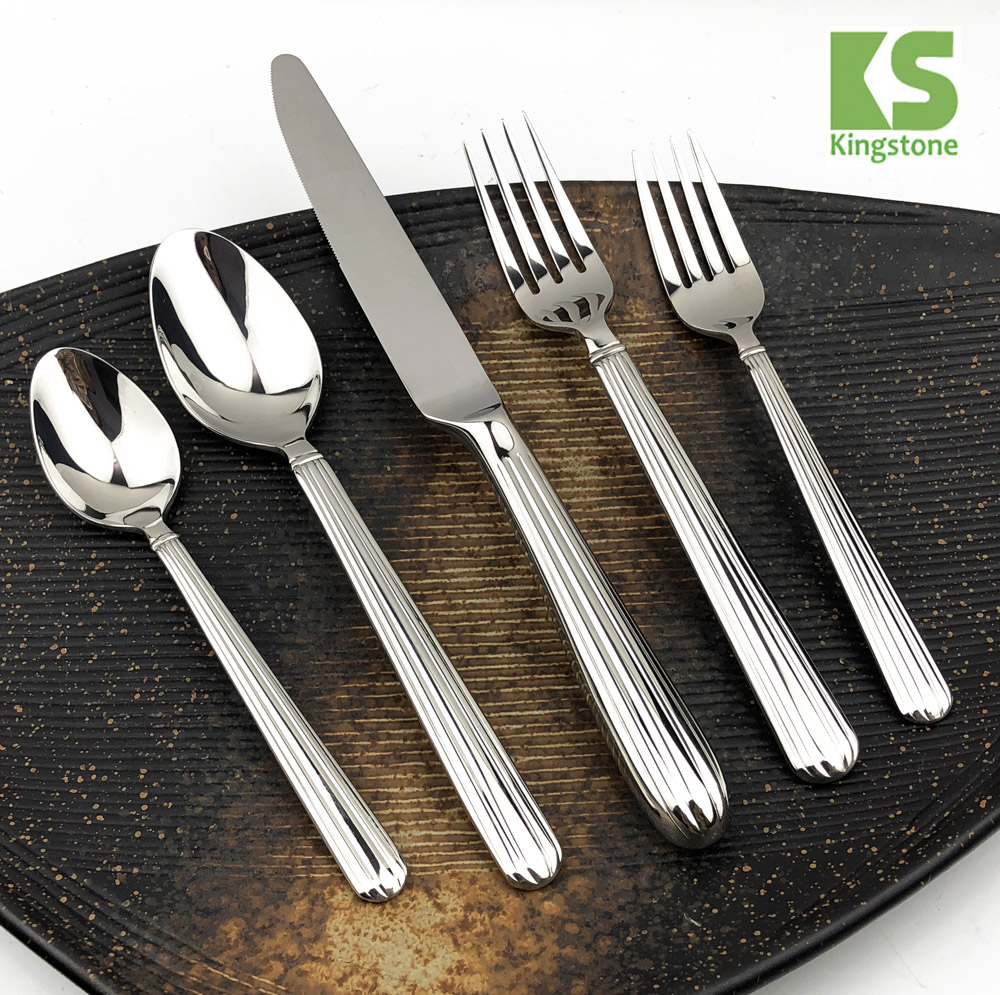 Wholesale set of 20 pieces tableware cutlery set <strong>stainless</strong> steel flatware set silverware