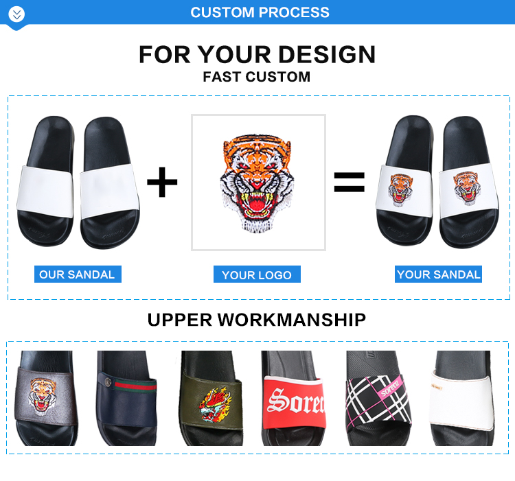 Fashionable printing summer rubber flip flop for 2019 Men summer rubber slippers