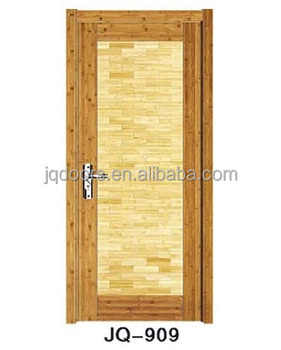 Door Interior Bamboo Design Solid Wooden