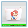 Cartoon print PVC leather bag small cosmetic carry bag Small cosmetic bag zipper pouch