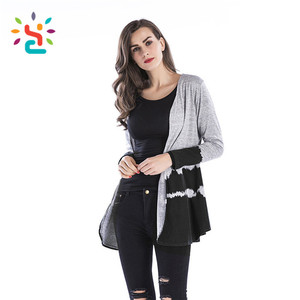 Custom cardigan Hoodies Young Ladies Fashion Coat Women Hoodies & Sweatshirts style USA women skirt
