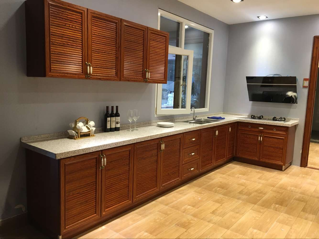 Kabinet Dapur Luar Ruangan Furnitur Kualitas Tinggi Pintu Kabinet Dapur Tahan Air Aluminium Aloi Buy Kualitas Tinggi Furniture Dapur Pintu Lemari Tahan Air Outdoor Kitchen Kabinet Product On Alibaba Com