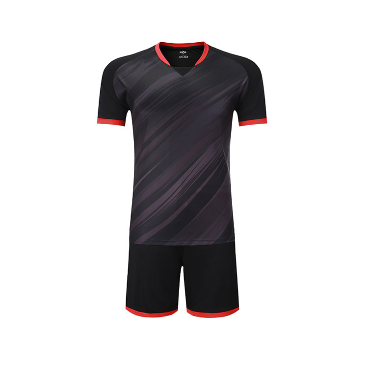 Best sell new model football wear customized design soccer jersey, Red;black;yellow;blue;fluorescent green
