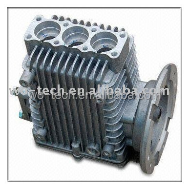 OEM ISO9001 hot sales machine spare part in die casting and aluminum casting parts