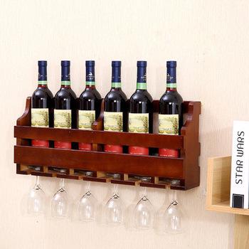 The Original Wooden Wine Rack Handmade Reclaimedwall Mounted Glass