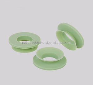 customized green silicone rubber sealing