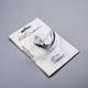 Disposable clear PVC PET PP plastic hardware clamshell packaging blister box for hooks