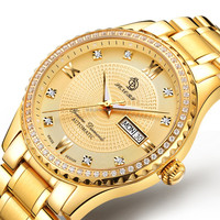 2017 Luxury Roles 22k Gold`automatic Watches Men Custom Brand ...