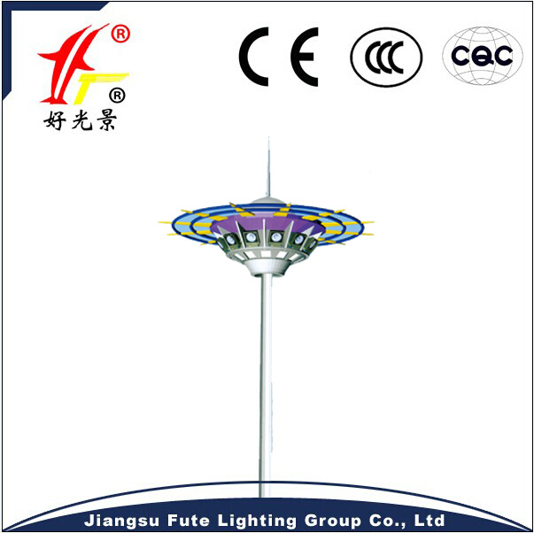 Factory produced poles price lighting street lights 35m high mast light