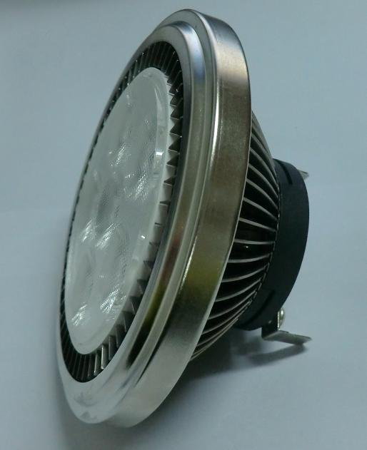led spot light 6W ar111 residential spotlight garden spot light led long lifespan 12v dc/ac 3 years warranty