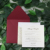 Glitter Paper Craft Wedding Invitations Laser Cut Cards Pocket Invitation Card Inserts with Burgundy Envelope