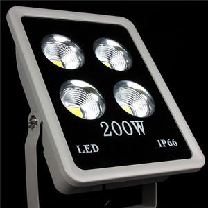 Mini project AC85-265V Input High Brightness 200w led flood light for parking