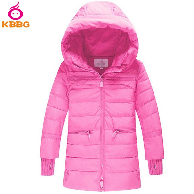 4fb02a434039 Get Quotations · Children Winter Coat Long Thick Warm Duck Down Kids Coats  Girls Winter 2015 Free Shippping AP0400