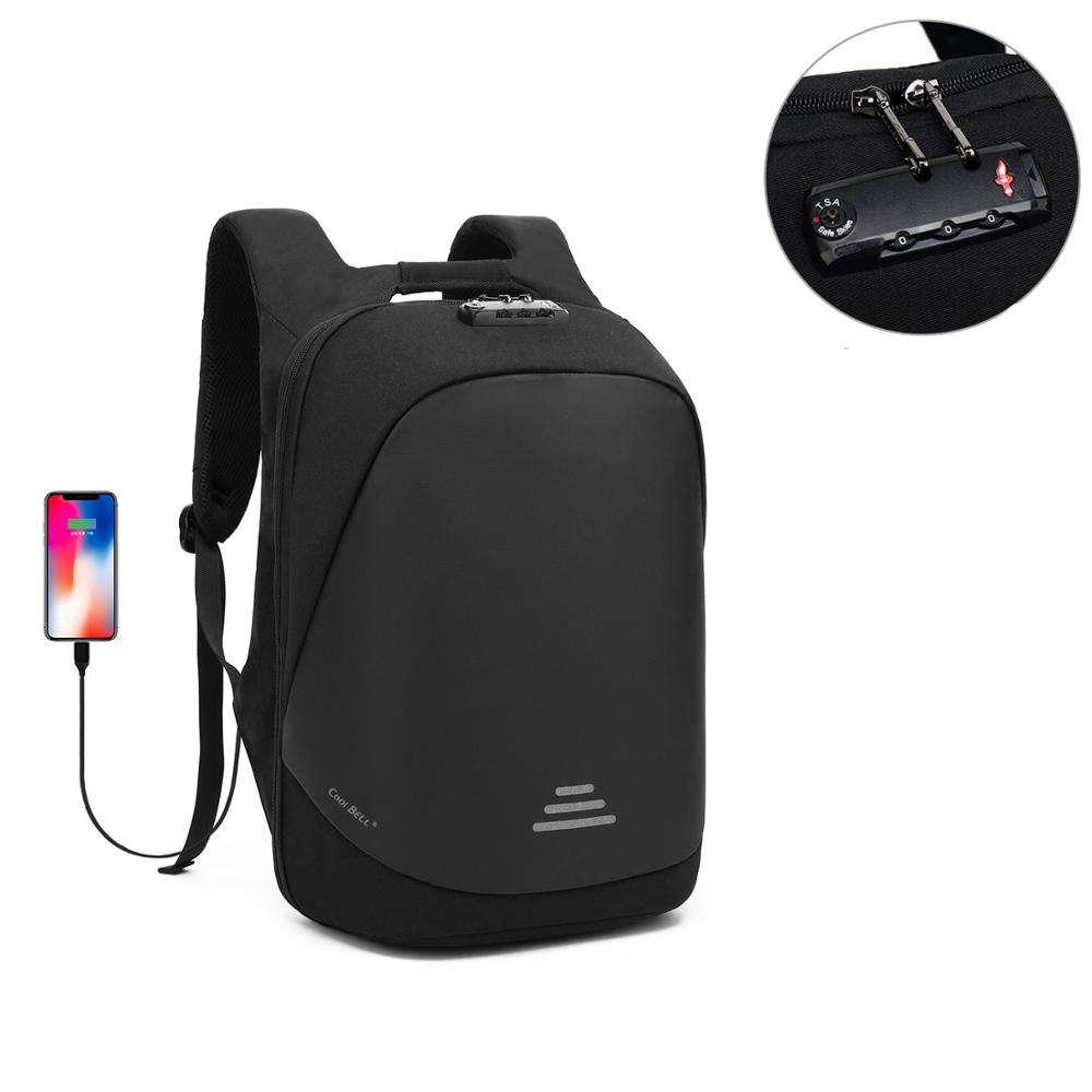 Lokass 15.6 Inches Anti Theft Custom Usb Charging Men Back Pack Backpack Notebook Bags Business Laptop Backpack