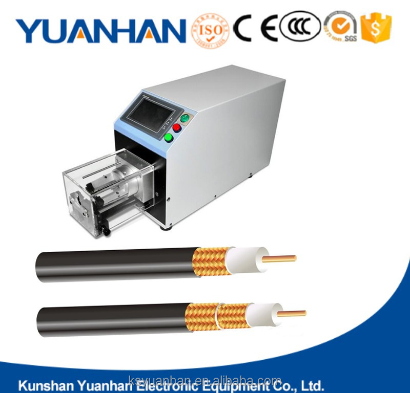 Double Coaxial Cable Wire Stripping Machine and industrial copper wire stripping machine
