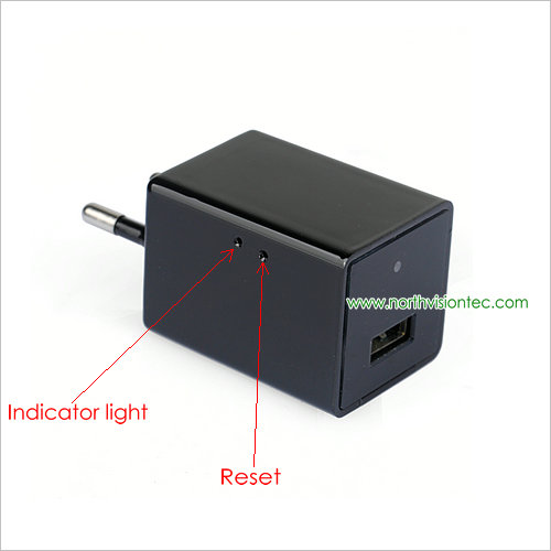 HD 1080 P Video Wall Charger Camera Nieuwe Stijl WIFI Oplader Camera