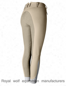 Royal wolf equestrian manufacturers riding breeches fabric ladies full seat riding jodhpur breeches wholesale