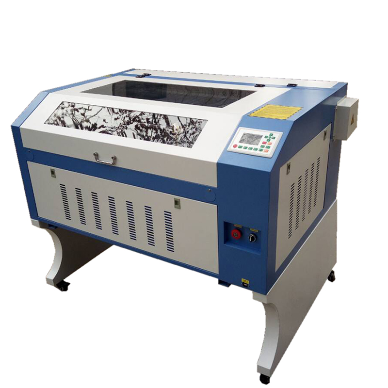 6090 60W80W100W Mini 3d printer 3d photo crystal  co2  laser engraving machine with reci laser tube