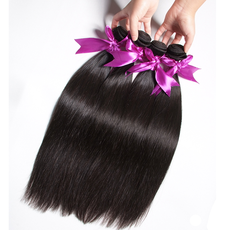 2019 new virgin remy hair bundles with closure grade 8a brazilian hair extension for sale, Natural color
