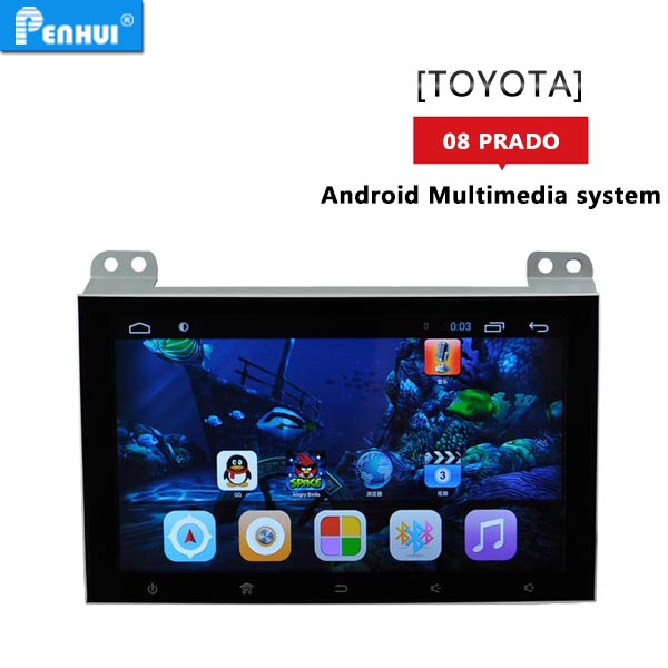 PENHUI Android 6.0 Car GPS fits for <strong>Toyota</strong> <strong>Prado</strong> 120 Support OBD+DVR+Wifi+mirror-link