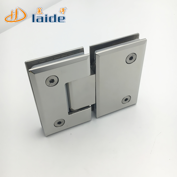 Self Closing Shower Door Hinge,180 Degree Bevel Bathroom Door Hinges
