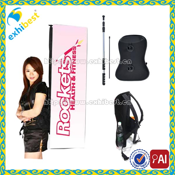 high bright Led backpack new advertising banner