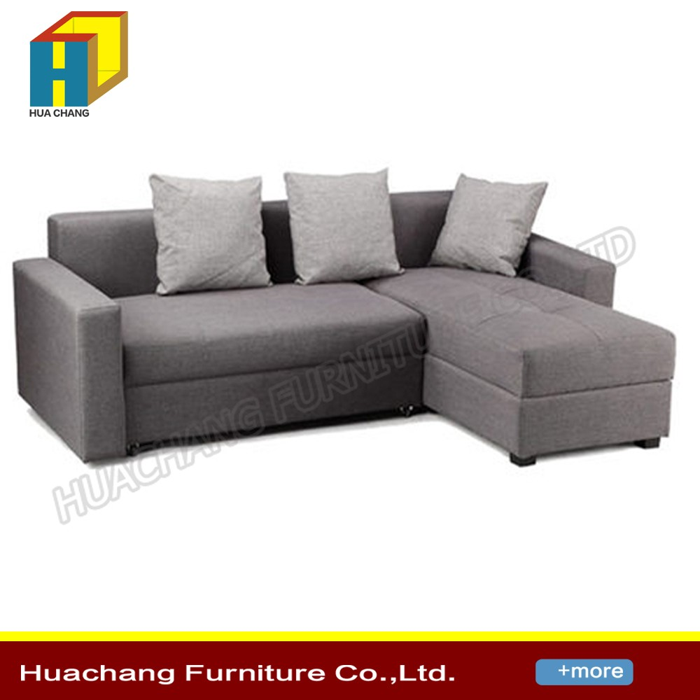 Modern Folding Leather Sofa Bed Pull Out Sofa Bed With Drawer  ~ Modern Pull Out Sofa Bed