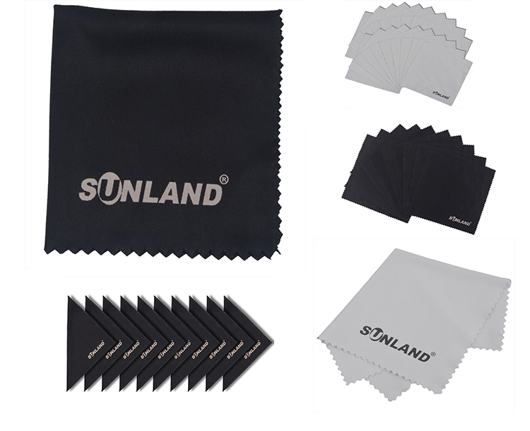 Sunland Super Absorbent Microfiber Fabric Eyeglasses Cleaning Cloth
