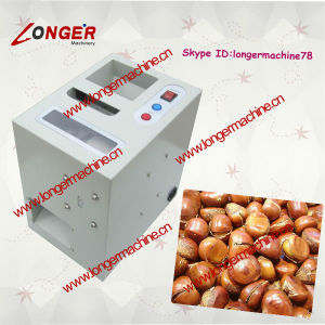 Small Chestnut Cracking Machine|Chinese Chestnut Incision Machine