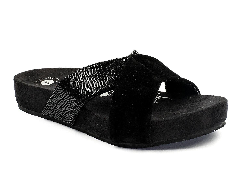 daa3b26ea4984a Get Quotations · Revitalign Dragonfly - Women s Comfort Slide Sandal